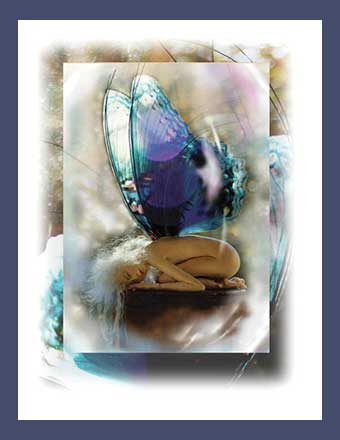 Metamorphosis Faerie Card by Debbie Pointon & Jacquelyn E Lane