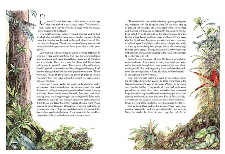 Jungle illustration from The Children of Gaia