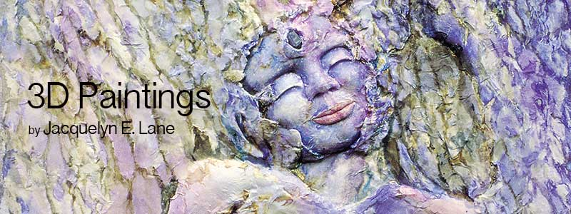 3D Paintings Title Image by Jacquelyn E Lane
