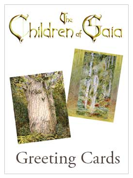 The Children Of Gaia Greeting Cards