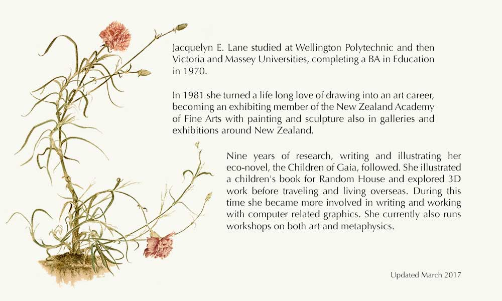 Bio for Jacquelyn E Lane