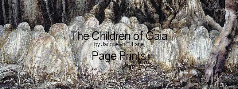 The Children of Gaia Page Prints Title Image