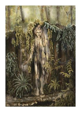 Khoros In Stump – Greeting Card