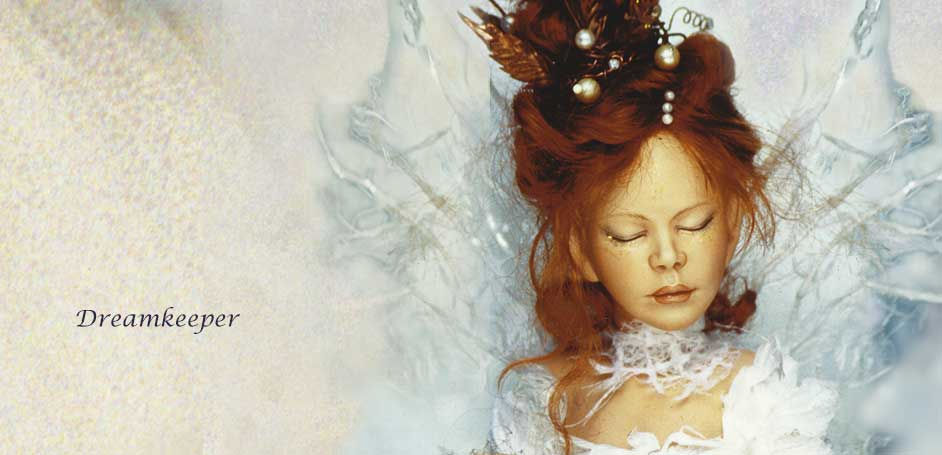 Dreamkeeper Fantasy Art Doll by Debbie Pointon