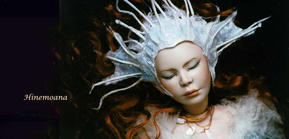 Hinemoana Fantasy Art Doll by Debbie Pointon