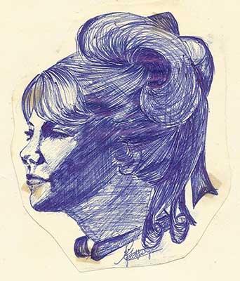 Hayley Mills Ballpoint - Jacquelyn E Lane