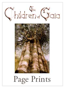 The Children Of Gaia Page Prints